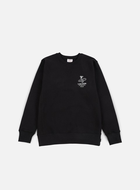 felpe acapulco gold last hope crewneck black