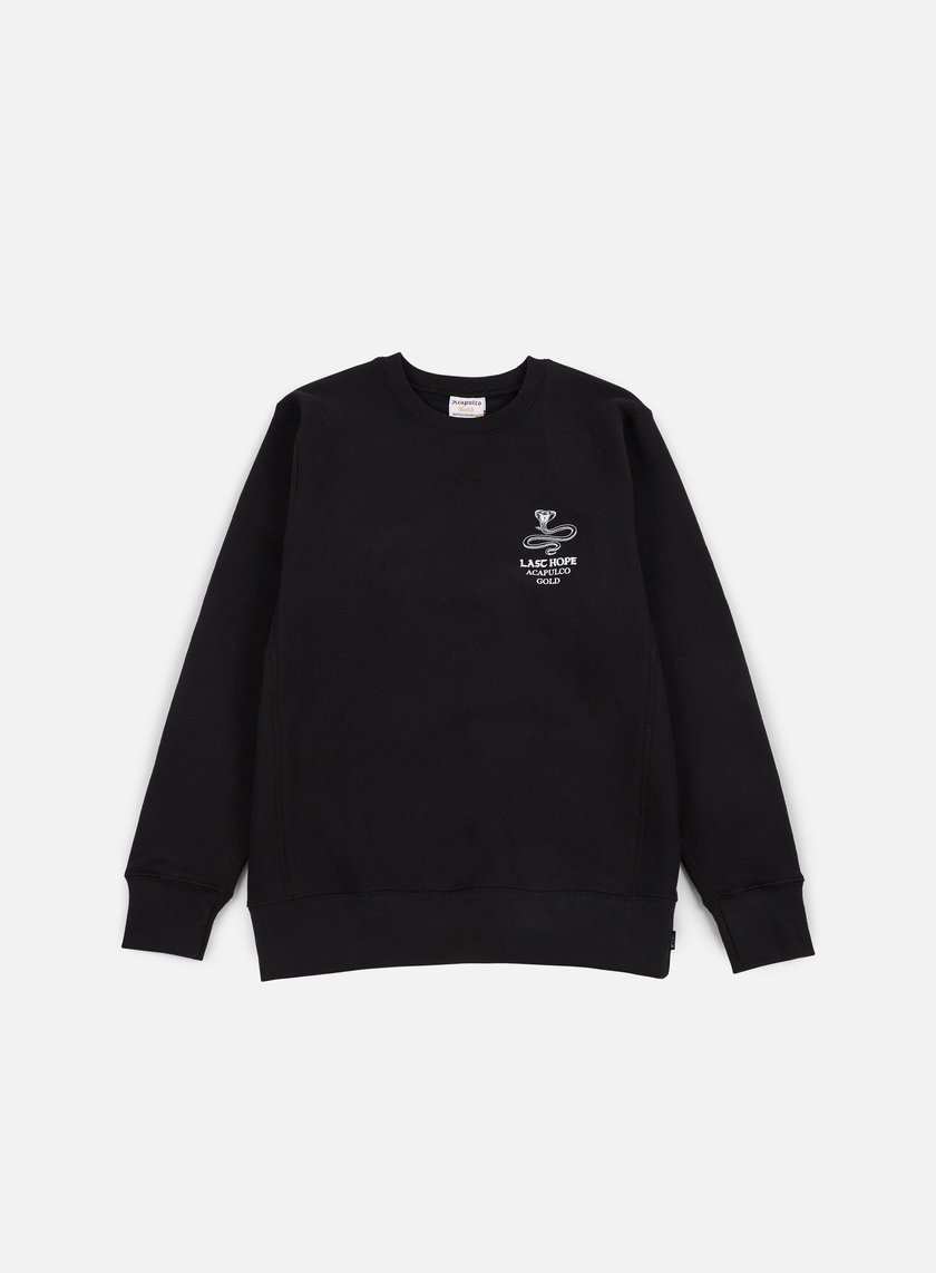 Acapulco Gold - Last Hope Crewneck, Black
