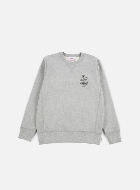 felpe acapulco gold last hope crewneck heather grey