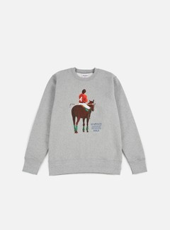 Acapulco Gold - Players Cup Crewneck, Heather Grey 1
