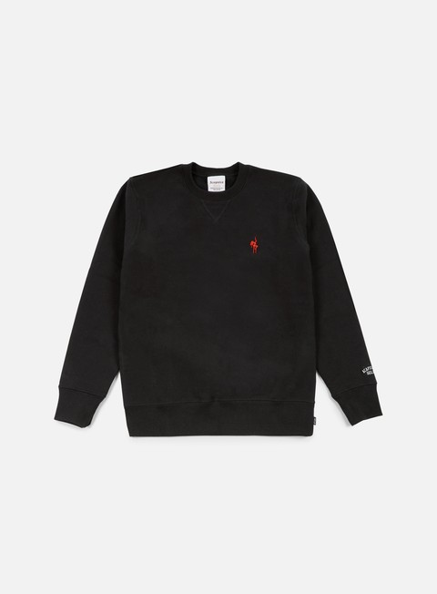 felpe acapulco gold show world crewneck black