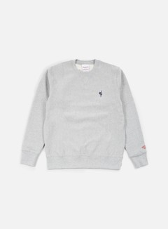 Acapulco Gold - Show World Crewneck, Heather Grey