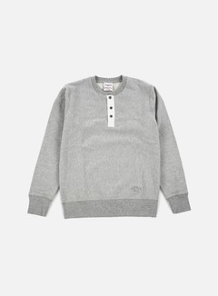Acapulco Gold - Tech Crewneck, Heather Grey 1