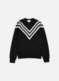 Adidas by White Mountaineering - WM 3-Stripes Knit, Black 1