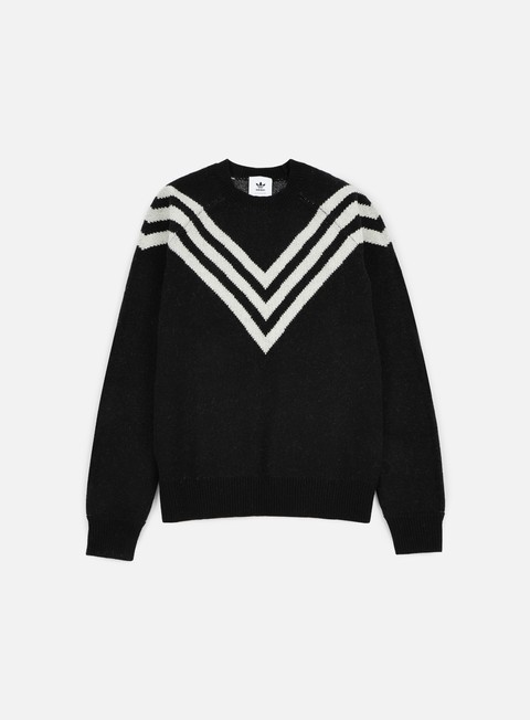 felpe adidas by white mountaineering wm 3 stripes knit black