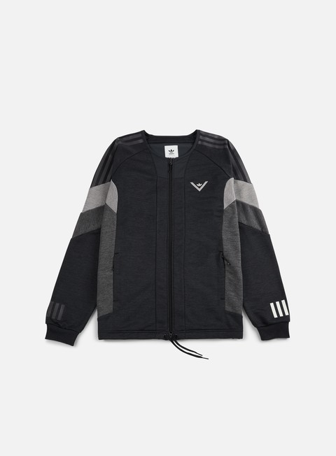 felpe adidas by white mountaineering wm challenger track top black