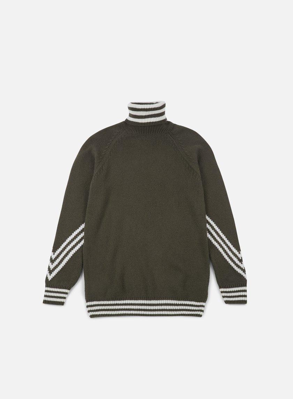 adidas Knit Scarf Crewneck Sweater Multicolor | adidas US