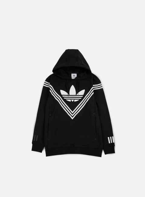 felpe adidas by white mountaineering wm logo hoody black