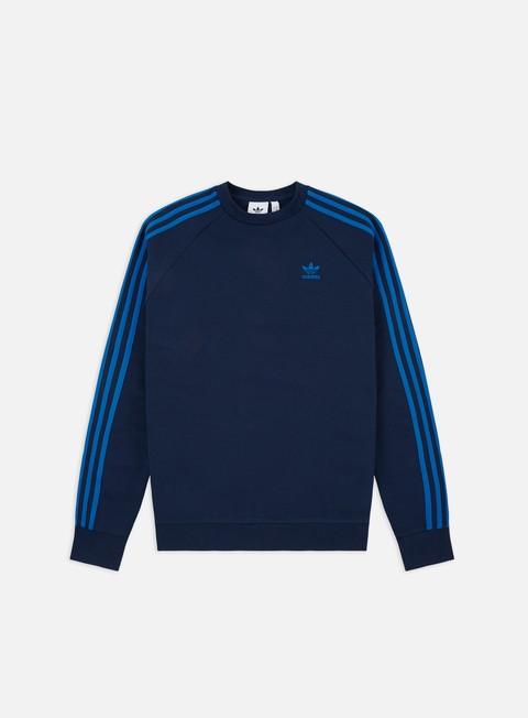 Felpe Girocollo Adidas Originals 3-Stripes Crewneck