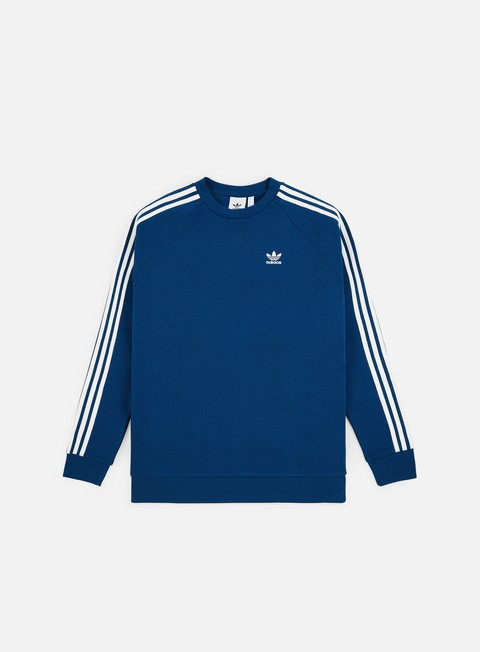 on sale 0f78a 97ad1 Felpe Girocollo Adidas Originals 3 Stripes Crewneck