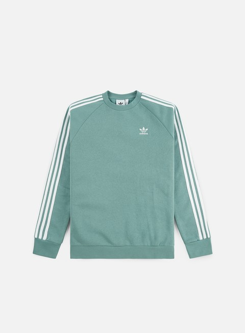Felpe Girocollo Adidas Originals 3 Stripes Crewneck