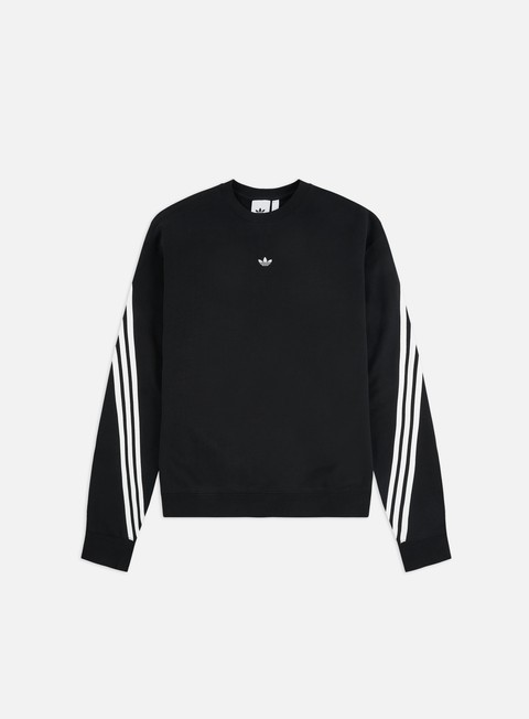 Outlet e Saldi Felpe Girocollo Adidas Originals 3stripe Wrap Crewneck