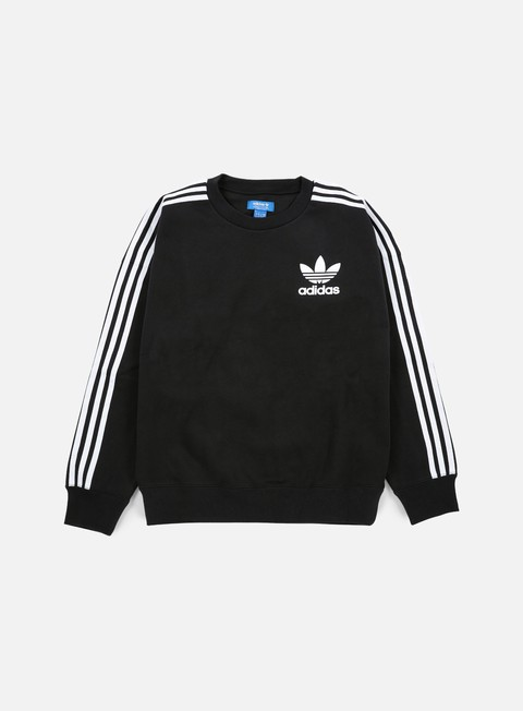 felpe adidas originals adc fashion crewneck black