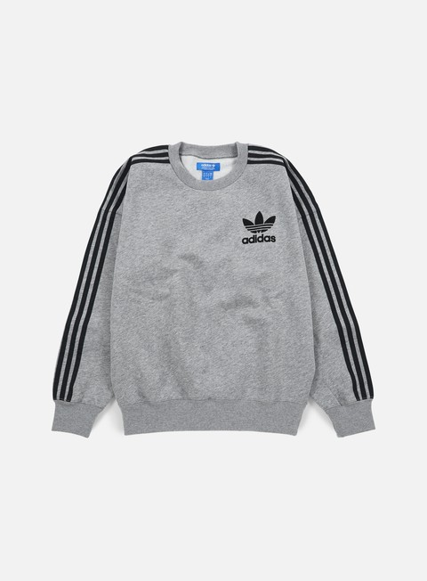 felpe adidas originals adc fashion crewneck core heather