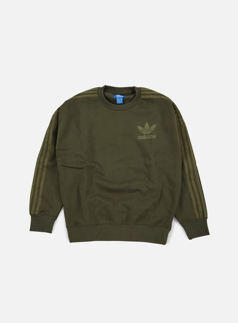 felpe adidas originals adc fashion crewneck night cargo