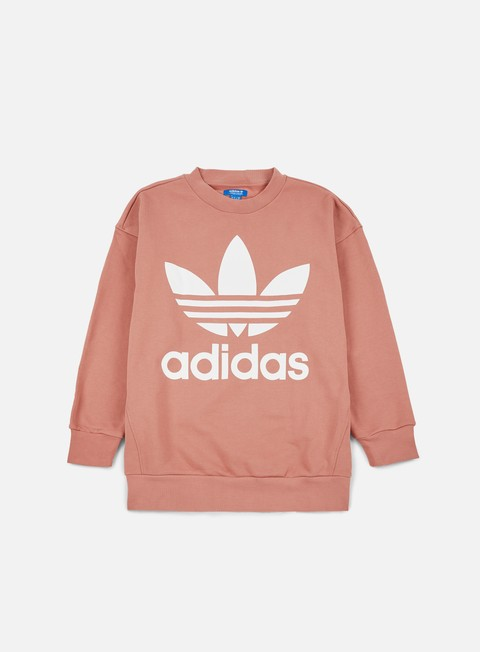 felpe adidas originals adc fashion crewneck raw pink