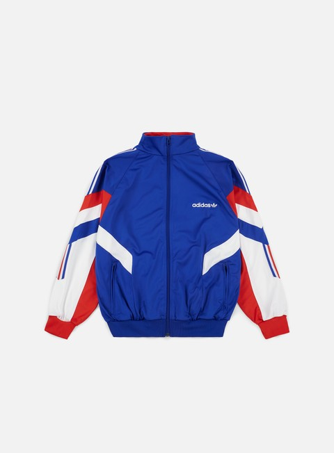 felpe adidas originals aloxe track top bold blue white