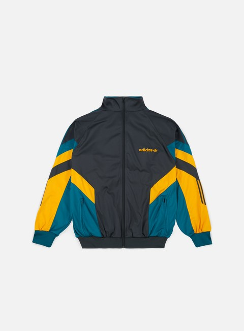 felpe adidas originals aloxe track top carbon collegiate gold