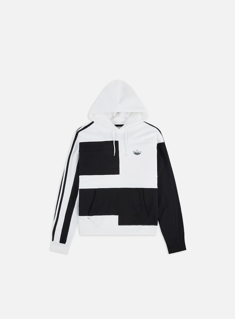 Hooded Sweatshirts Adidas Originals Asymm Block Hoodie