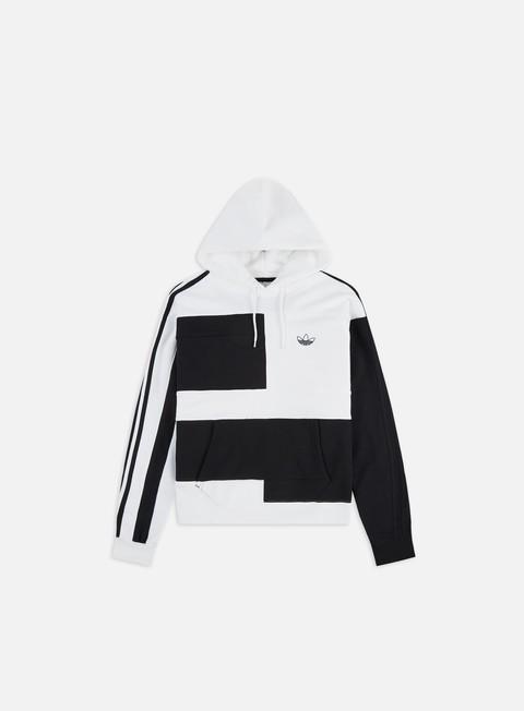 Felpe con Cappuccio Adidas Originals Asymm Block Hoodie