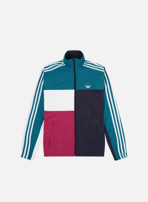 Sale Outlet Track top Adidas Originals Asymm Full Zip Track Jacket