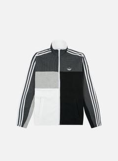 Adidas Originals - Asymm Full Zip Track Jacket, White/Black