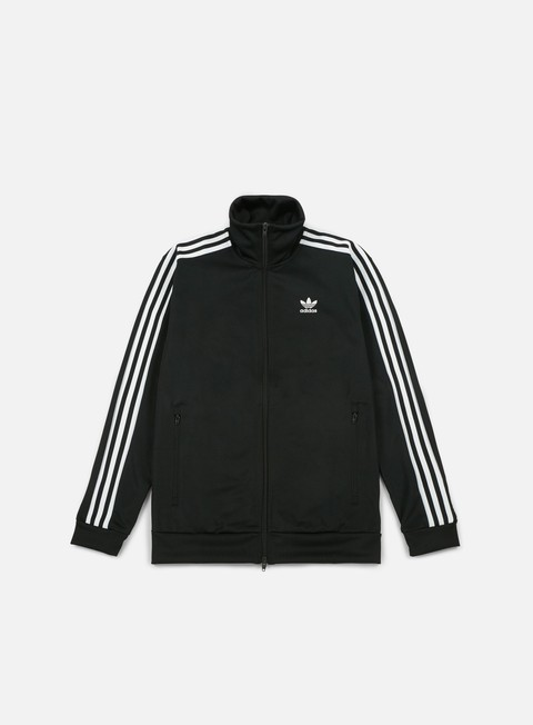 felpe adidas originals beckenbauer track top black