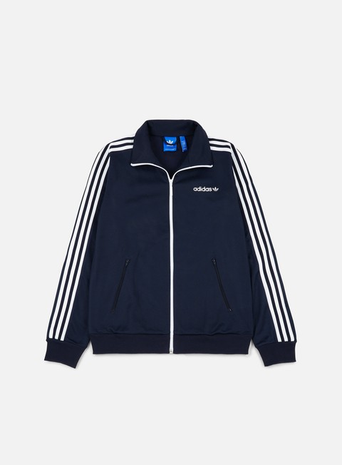 felpe adidas originals beckenbauer track top legend ink
