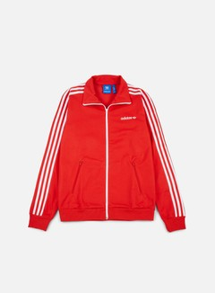 Adidas Originals - Beckenbauer Track Top, Vivid Red 1