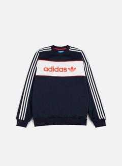 Adidas Originals - Block Crewneck, Legend Ink 1