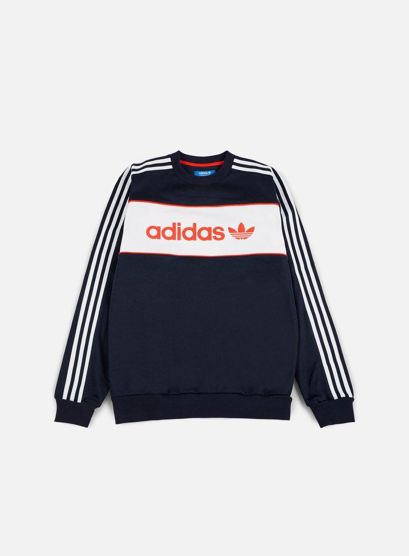 Adidas Originals - Block Crewneck, Legend Ink