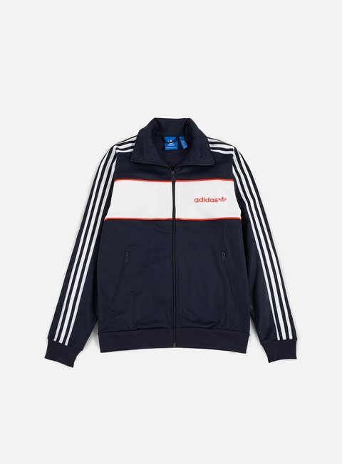 Sale Outlet Zip Sweatshirts Adidas Originals Block Track Top