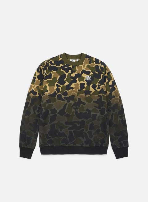 Crewneck Sweatshirts Adidas Originals Camo Crewneck