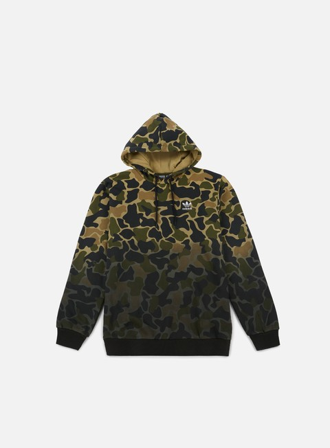 Hooded Sweatshirts Adidas Originals Camo Hoodie