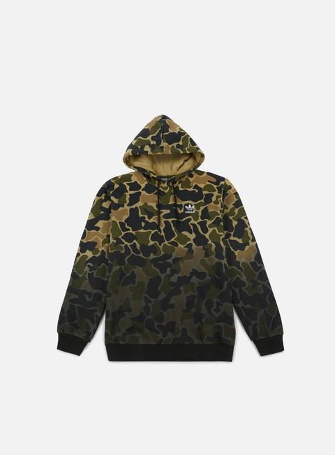 felpe adidas originals camo hoodie multicolor