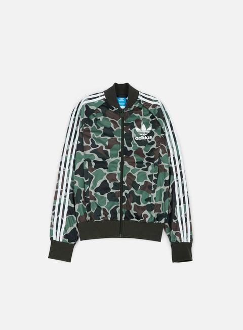 Zip hoodie Adidas Originals Camouflage SST Track Top