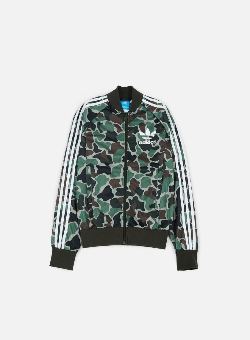 Adidas Originals - Camouflage SST Track Top, Multicolor