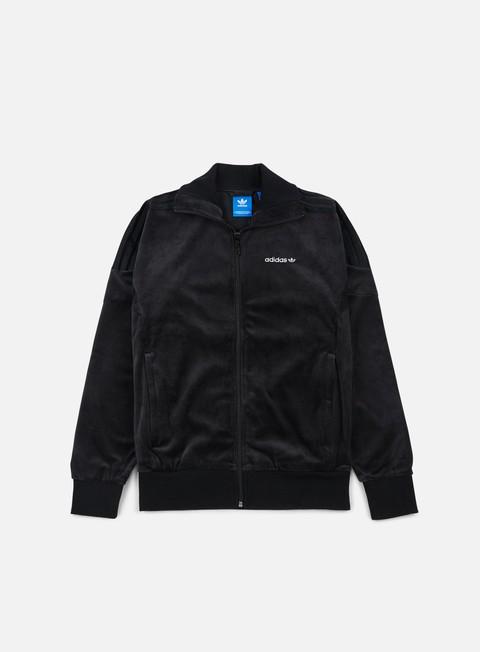 felpe adidas originals challenger track jacket black