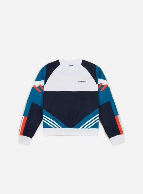 felpe adidas originals chop shop crewneck legend ink white