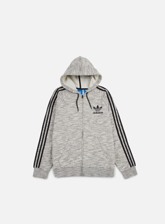 Adidas Originals - CLFN Zip Hoodie, Medium Grey Heather 1
