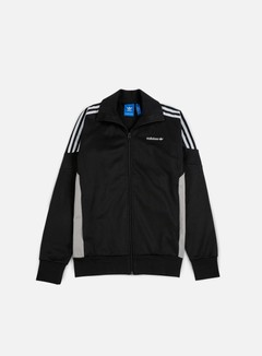 Adidas Originals - CLR84 Track Top, Black/Black
