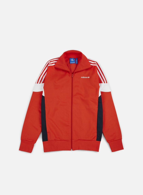 Adidas Originals - CLR84 Track Top, Core Red/Legend Ink