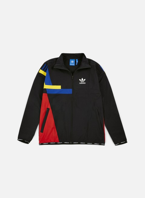 felpe adidas originals colorblock track top black