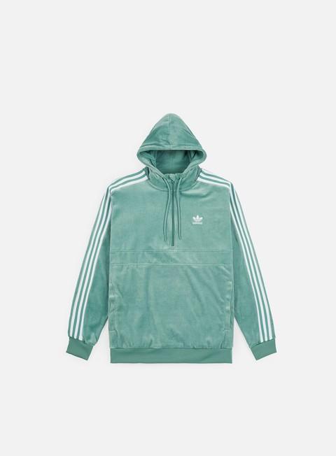 Felpe con Cappuccio Adidas Originals Cozy Half Zip Hoodie