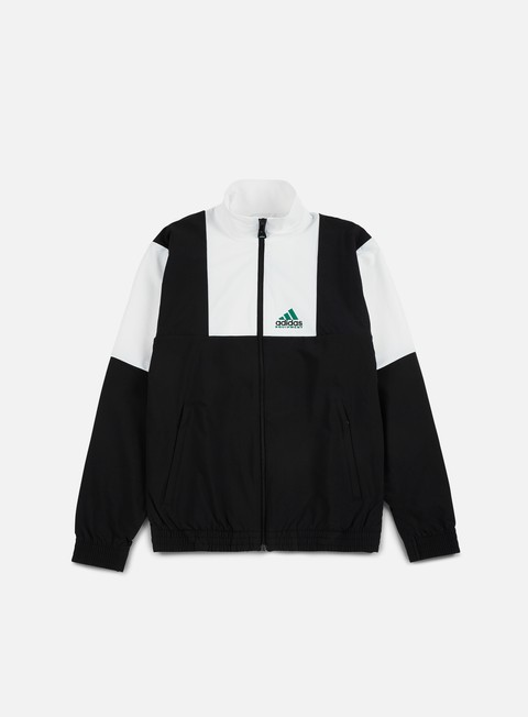 felpe adidas originals eqt 1to 1 track top black white