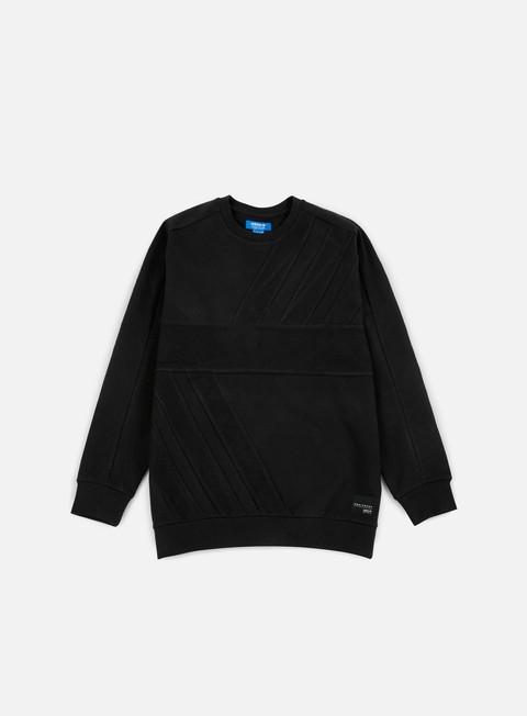 felpe adidas originals eqt adv crewneck black