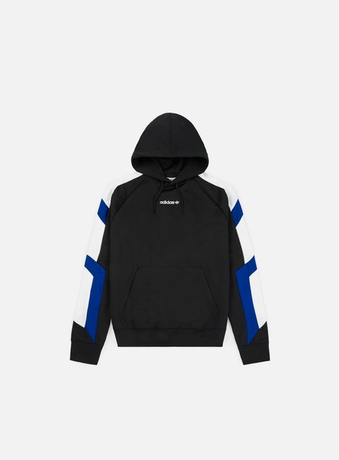 Sale Outlet Hooded Sweatshirts Adidas Originals EQT BLK Hoody