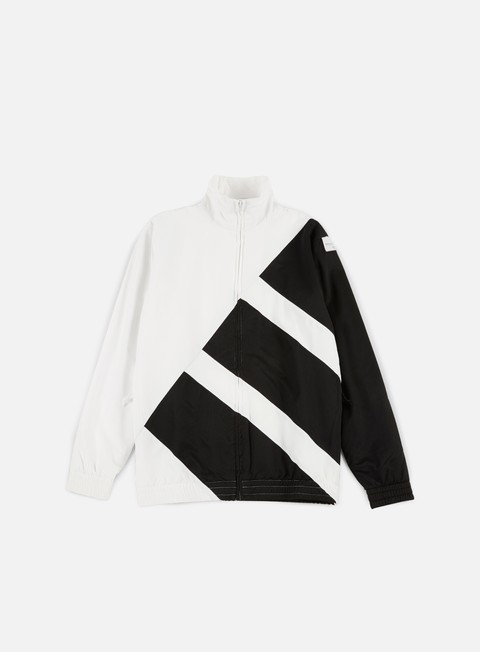 felpe adidas originals eqt bold track top white black