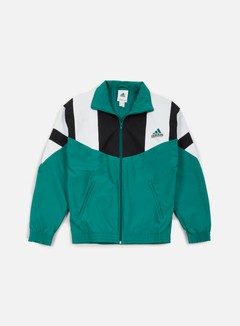 Adidas Originals - EQT Boston Marathon Track Jacket, Sub Green/White/Black