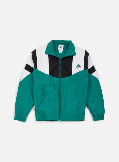felpe adidas originals eqt boston marathon track jacket sub green white black